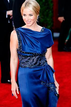 Christina Applegate sul tappeto rosso degli Emmy Awards 2009