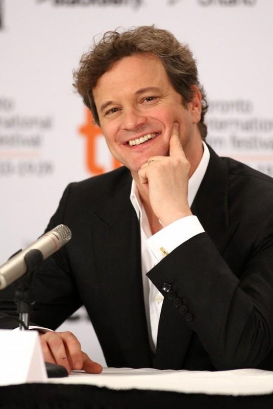 Colin Firth al Toronto Film Festival 2009 durante la conferenza con la stampa per presentare A Single Man