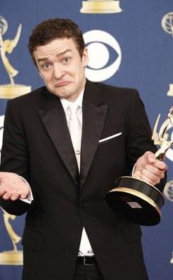 Emmy Awards 2009: una curiosa espressione di Justin Timberlake