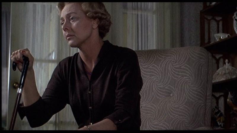 Louise Latham in una scena del film Marnie (1964 )