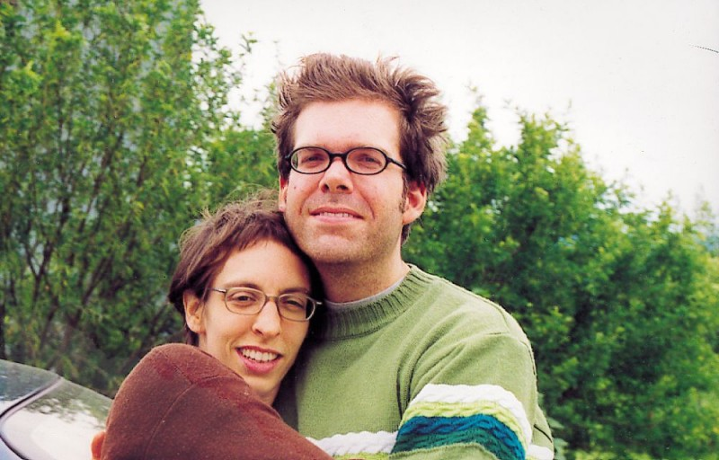 Monica e Jason in un'immagine del documentario Il silenzio prima della musica