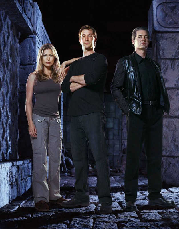 Noah Wyle, Sonya Walger e Kyle MacLachlan per il film The Librarian: Quest for the Spear