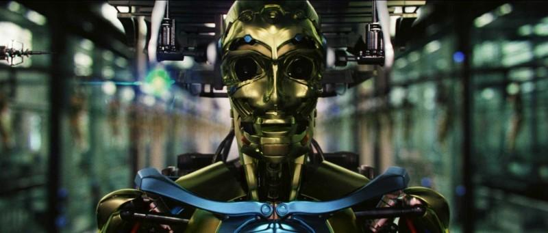 Un'immagine del film Il mondo dei replicanti