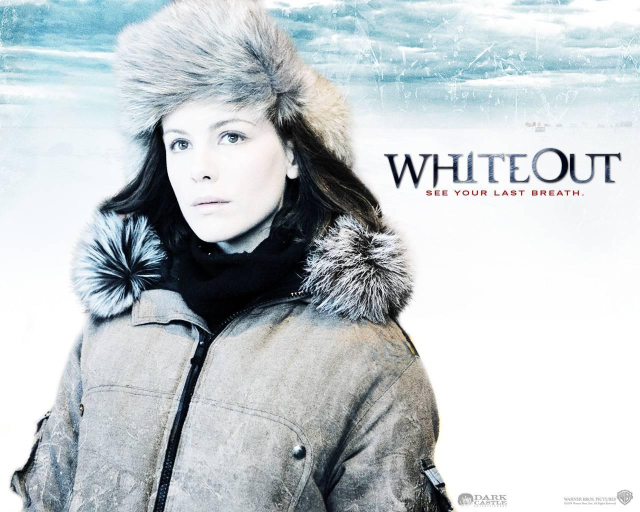 Un wallpaper del film Whiteout - Incubo bianco