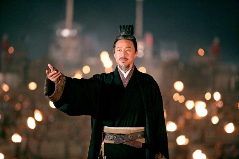 Una scena del film La battaglia dei tre regni, diretto da John Woo