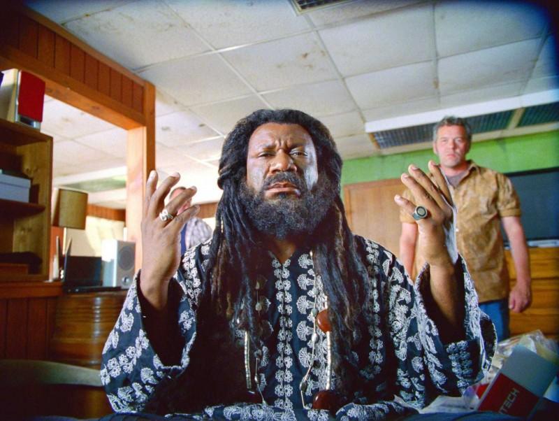 Ving Rhames in una scena del film Il mondo dei replicanti