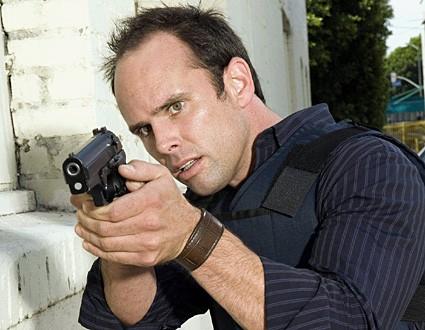 Walton Goggins nel ruolo del detective Shane Vendrell in The Shield