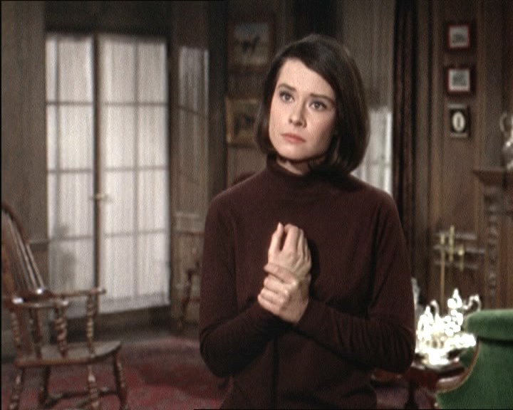 Diane Baker in una scena del film Marnie ( 1964 )