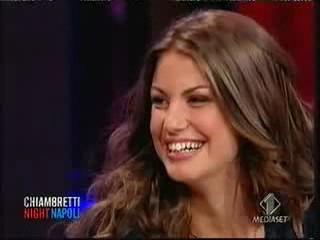 Francesca Fioretti ospite al Chiambretti Night