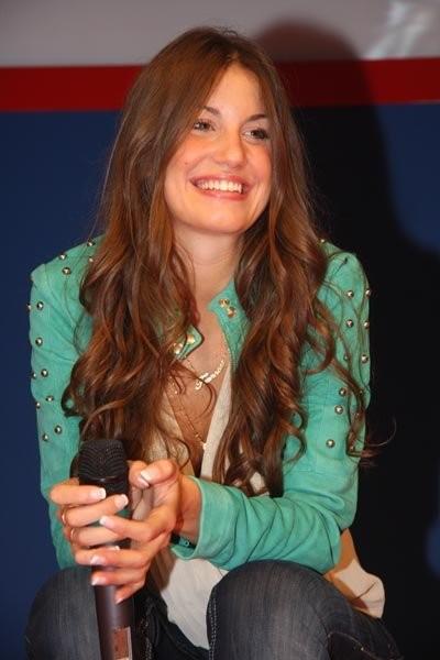 Francesca Fioretti sul palco GF CITY