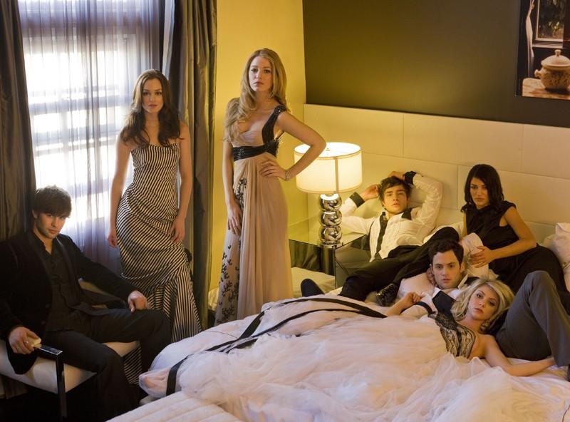 Il cast principale della season 2 di Gossip Girl