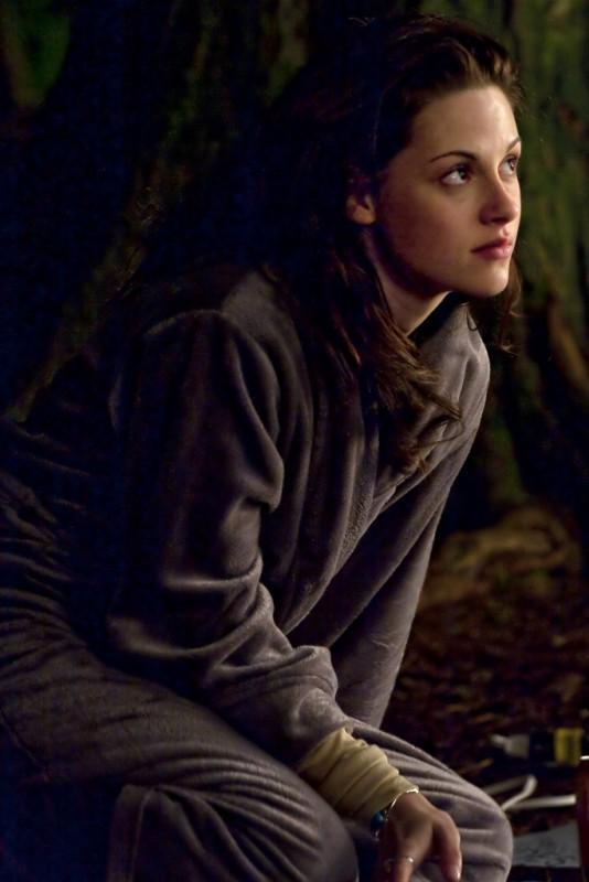 La bella Kristen Stewart sul set di Twilight Saga: New Moon