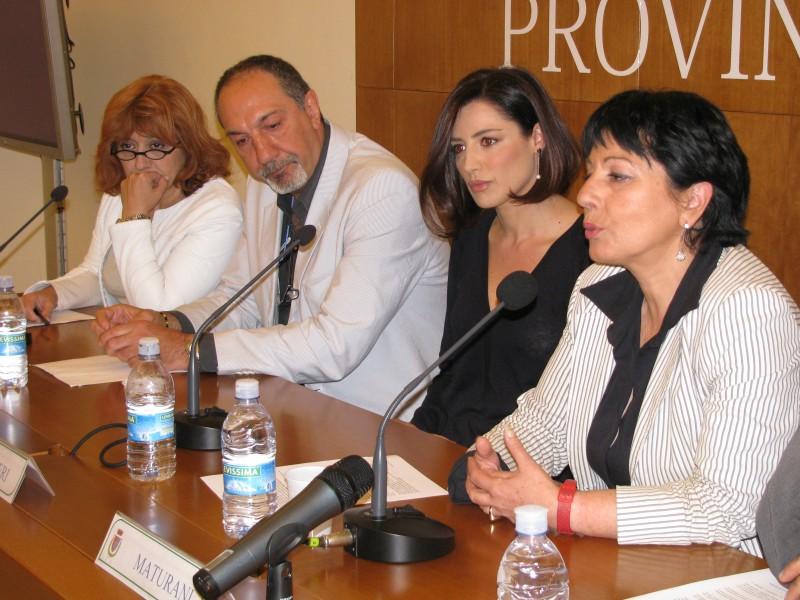 Presentazione di 19 Giorni di Massima Sicurezza con Laura Delli Colli, Enzo De Camillis, Luisa Ranieri.