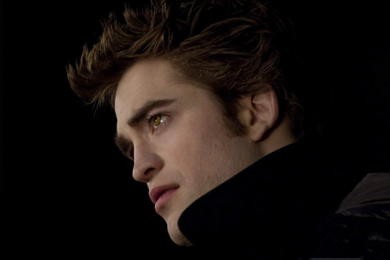 Robert Pattinson sul set di The Twilight Saga: New Moon fotografato da David Strick per il Los Angeles Times