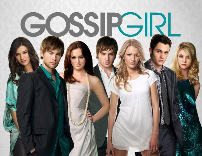 Un manifesto pubblicitario per la season 3 di Gossip Girl