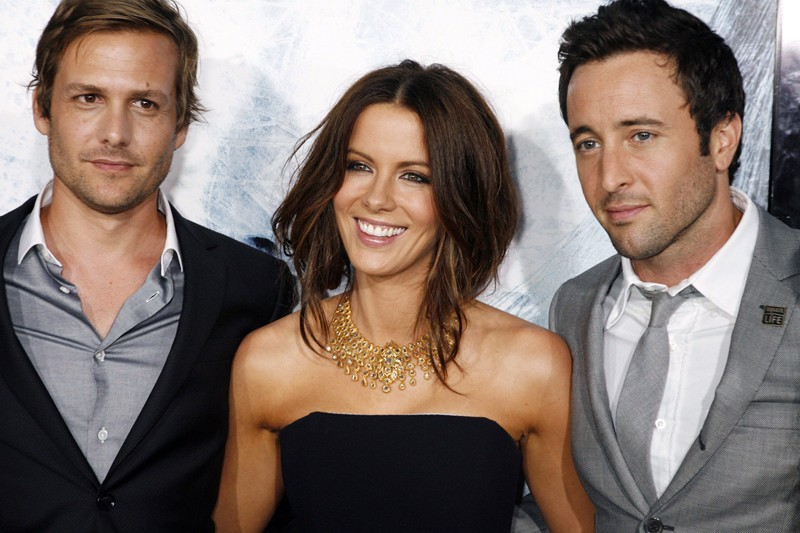 Gabriel Macht, Kate Beckinsale e Alex O'Loughlin alla premiere del film Whiteout - Incubo bianco, a Los Angeles, il 9 Settembre 2009