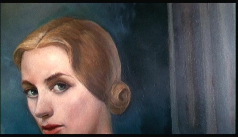 Il ritratto della misteriosa Carlotta Valdez del film La donna che visse due volte