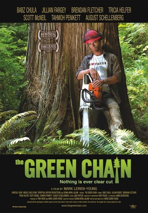 La locandina di The Green Chain