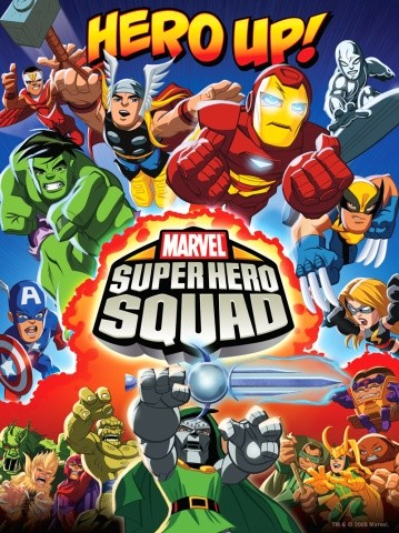 La locandina di The Super Hero Squad Show