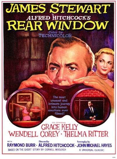 Locandina del film La finestra sul cortile (1954 )