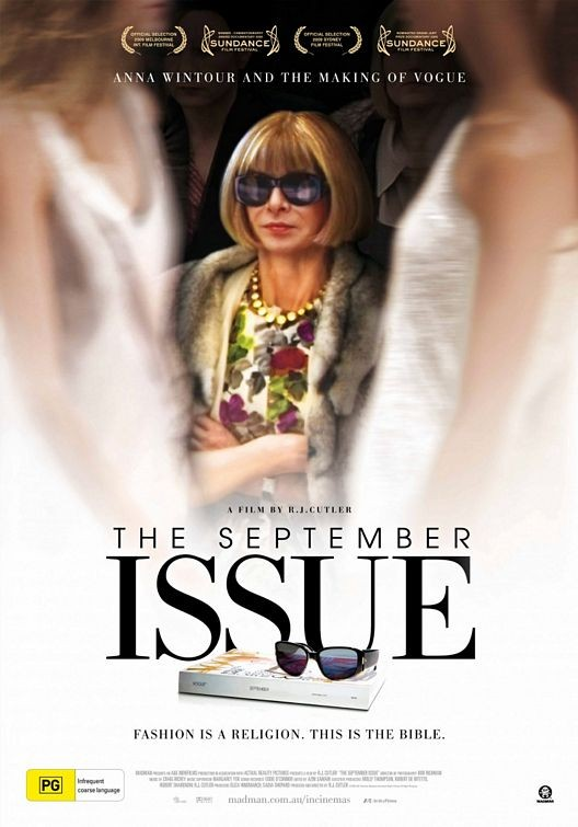 Poster australiano per The September Issue