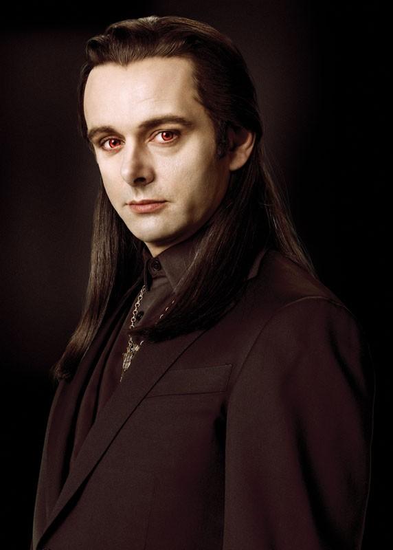 Un primo piano di Aro (Michael Sheen) del clan dei Volturi per il film Twilight Saga: New Moon
