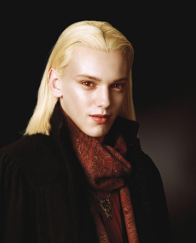 Un primo piano di Caius (Jamie Campbell Bower) del clan dei Volturi per il film Twilight Saga: New Moon