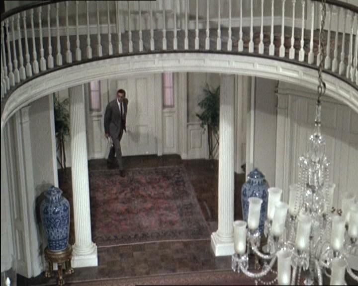 Una scena del film Marnie ( 1964 )