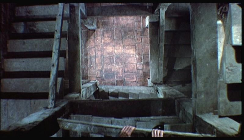 Una vertiginosa sequenza del film La donna che visse due volte ( 1958 )