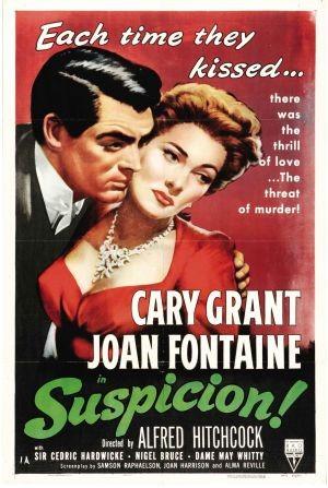 Locandina del film Il sospetto ( 1941 )