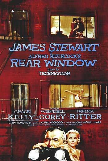 Locandina del film La finestra sul cortile ( 1954 )
