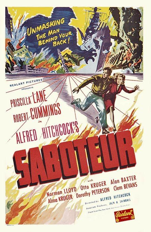 Locandina del film Sabotatori ( 1942 )