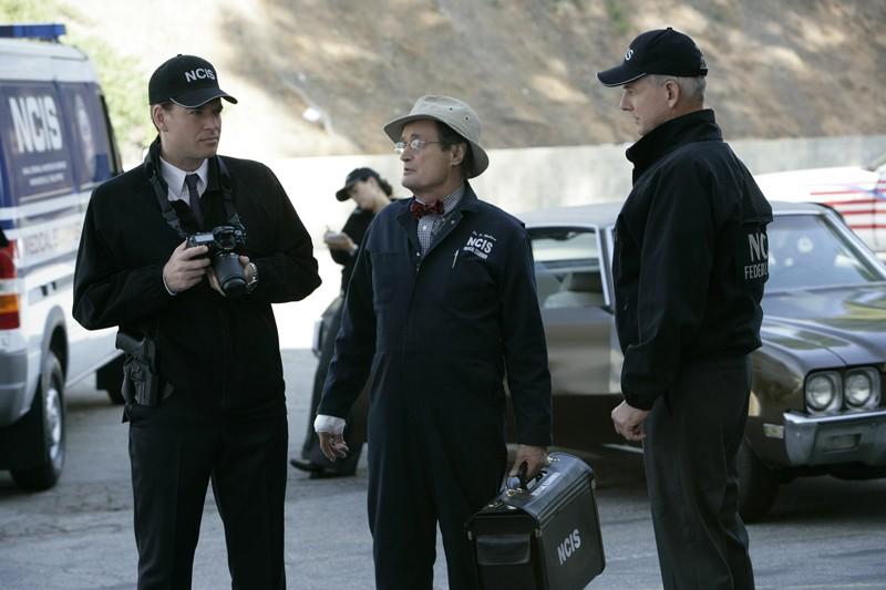 Michael Weatherly, David McCallum e Mark Harmon nell'episodio 'Love & War' della serie tv Navy NCIS
