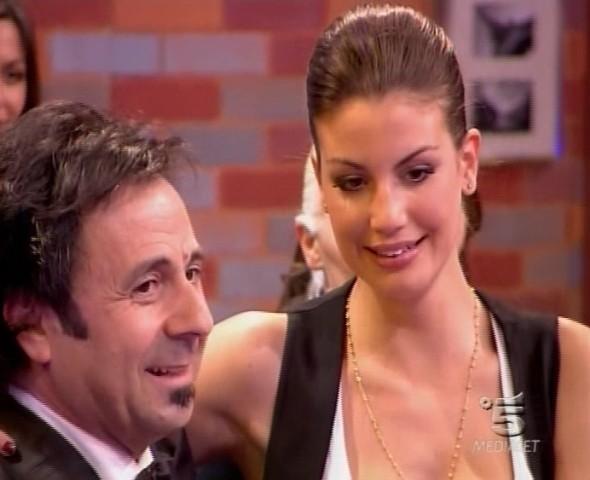 Francesca Fioretti col Mago Forrest (Michele Foresta) allo Speciale Mai dire GF