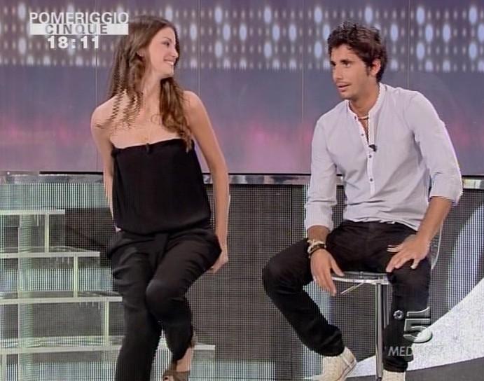 Francesca Fioretti e Ferdi Berisa ospiti a Pomeriggio Cinque