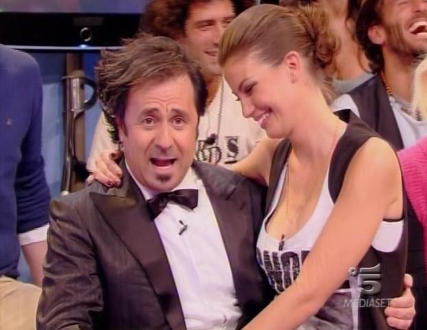 Francesca Fioretti e il Mago Forrest allo Speciale Mai dire GF