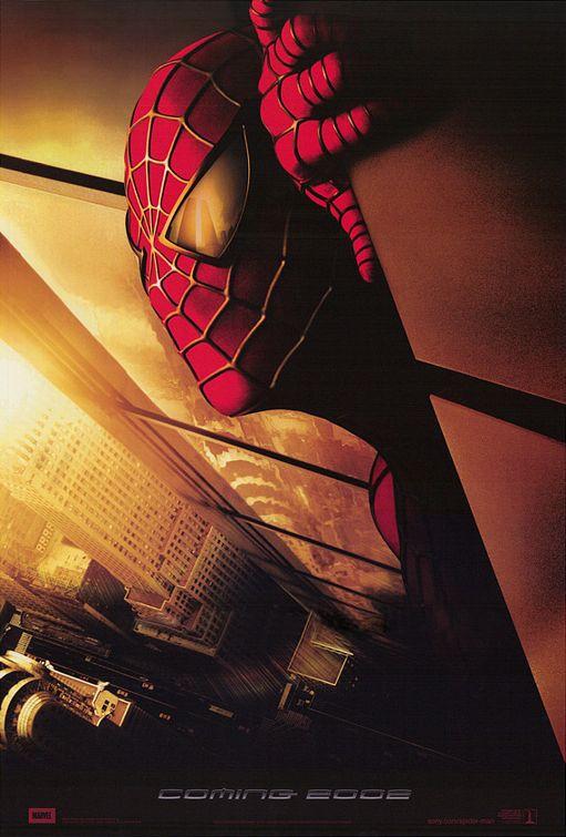 Il poster pubblicitario di Spider-Man