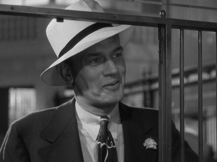 Joseph Cotten in una scena del film L'ombra del dubbio ( 1943 )