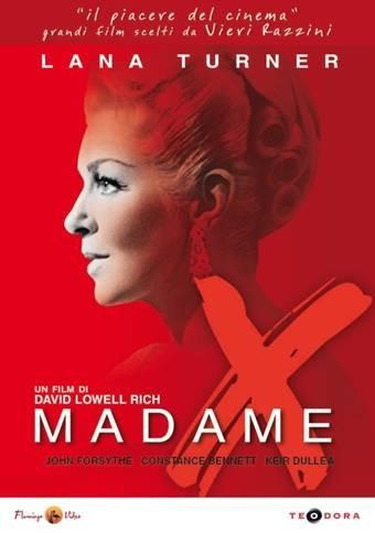 La copertina di Madame X (dvd)
