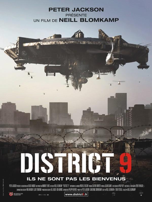 La locandina francese di District 9