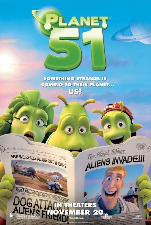 Nuovo poster USA per Planet 51