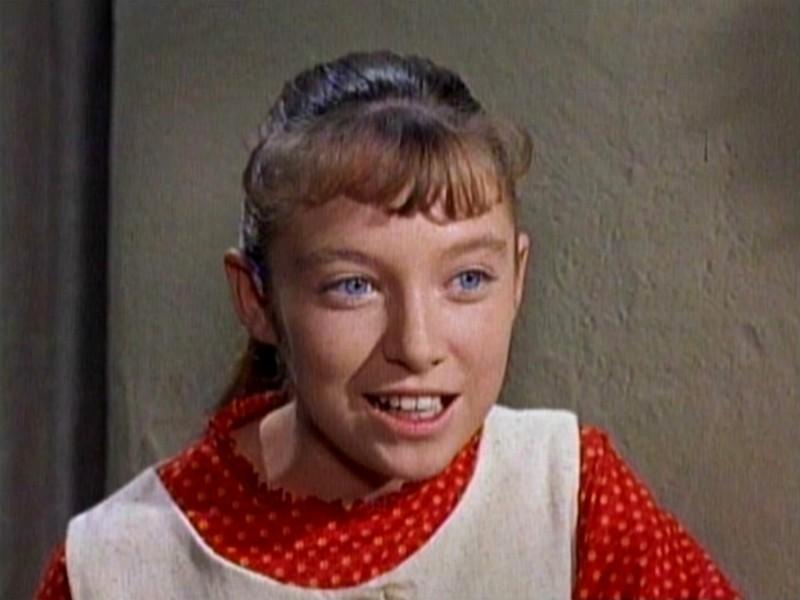 Primo piano di Veronica Cartwright in una scena del film Gli uccelli (1963 )