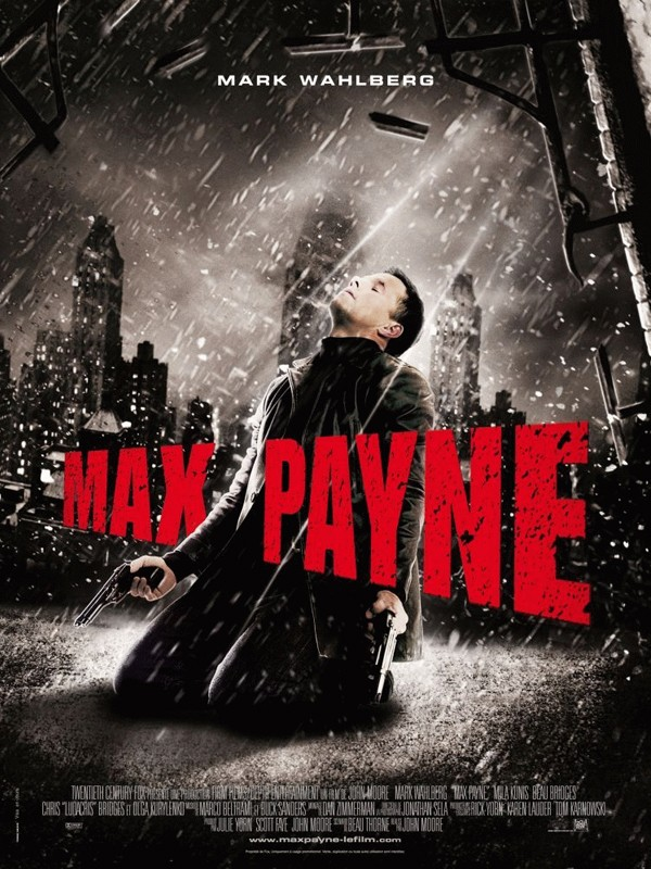 Il Poster Francese del film Max Payne
