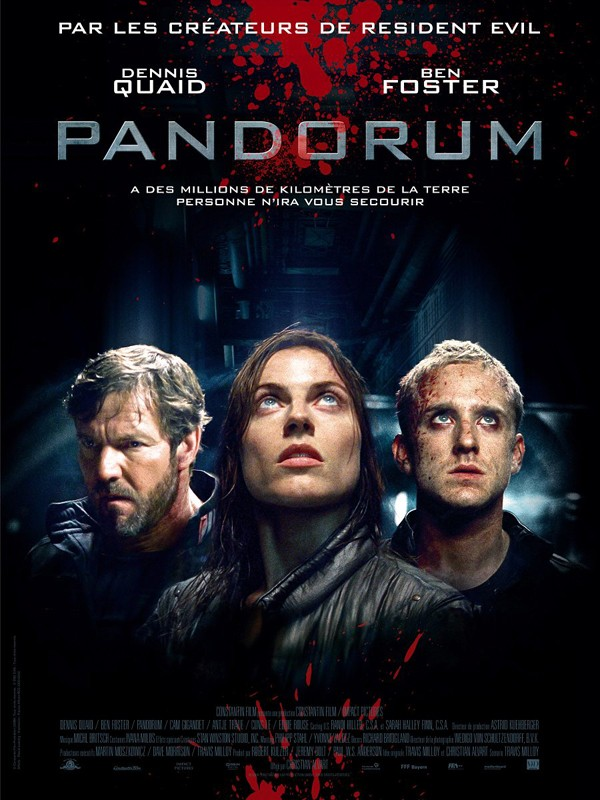 Il poster francese per il film Pandorum