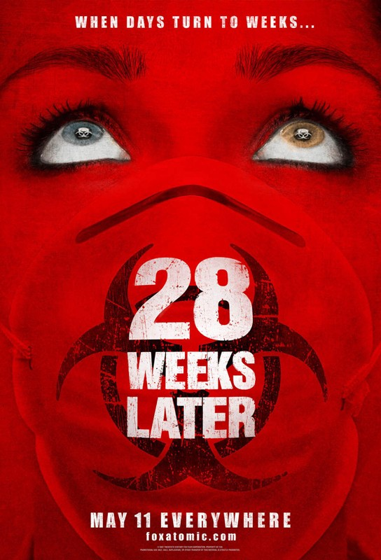 Il poster inglese di 28 Weeks Later