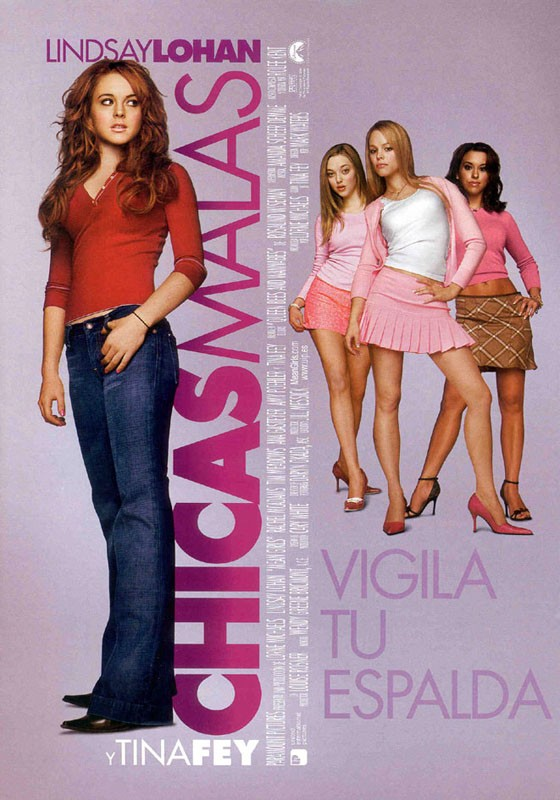 Il poster spagnolo di Chicas Malas (Mean Girls)