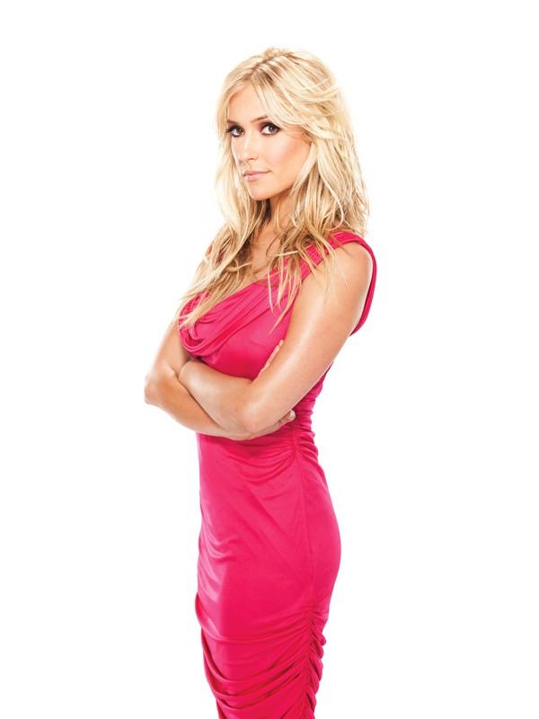 Kristin Cavallari con un vestito rosa per la season 5 di The Hills