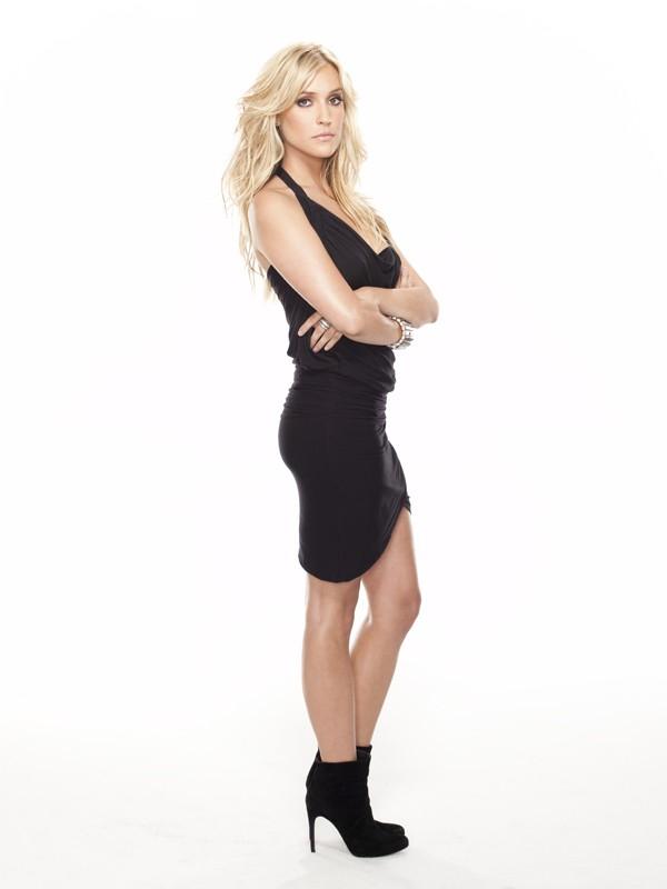 Kristin Cavallari in posa per la stagione 5 di The Hills