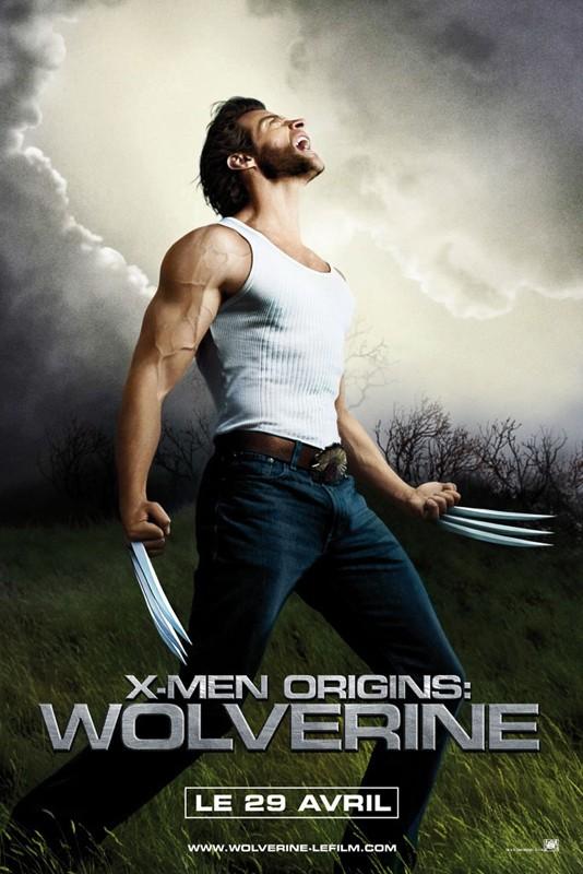 La locandina francese di X-Men - Le origini: Wolverine