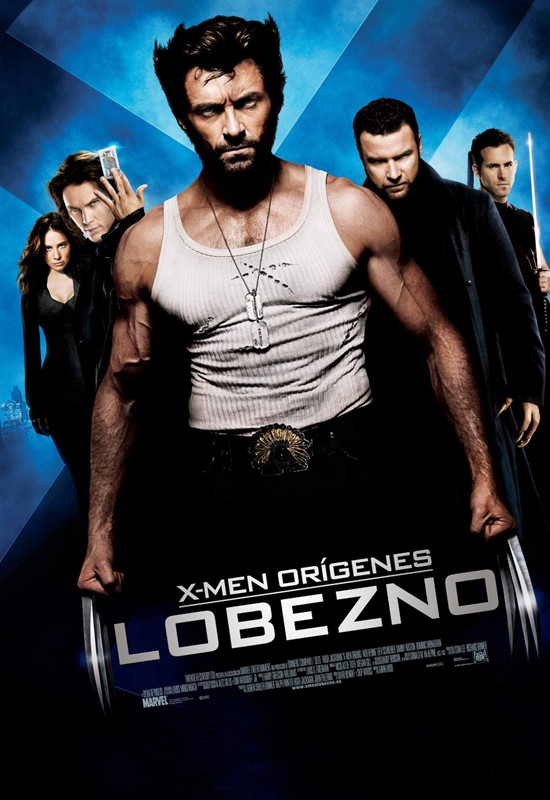 La locandina spagnola del film X-Men - Le origini: Wolverine